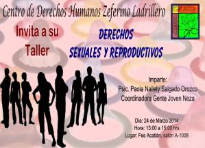 Taller Derechos Sexuales y Reproductivos