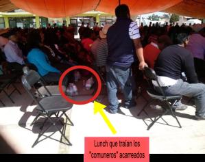 Lunch que traían los comuneros 3
