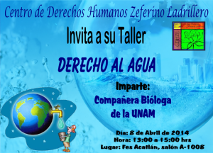 Taller Derecho Humano al Agua