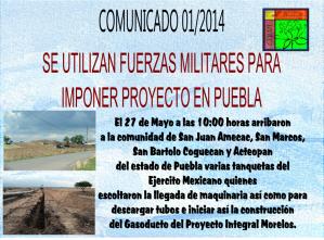 Comunicado 01 2014 PIM