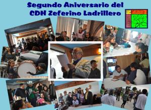 Boletín Segundo Aniversario del CDHZL