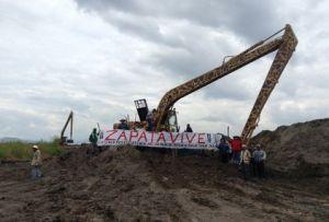Atenquenses se movilizan en Edomex y DF en rechazo al nuevo aeropuerto / Imagen tomada de De Interés Público