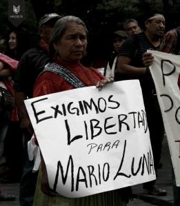 Exigen libertad para Mario Luna, vocero de la Tribu Yaqui preso en Sonora / Foto Más de 131