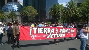 Rechaza el FPDT que se erija el nuevo aeropuerto de Texcoco