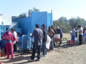 Coyotepec, la violenta codicia por su agua / Tomada de SubVersiones