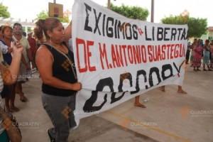 Piden liberar al vocero del Cecop / Foto: José Zorroza/ - Quadratín