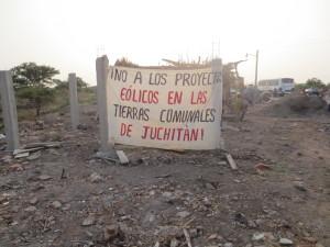 Guardias comunitarios de Oaxaca resisten con resorteras a eolicas Foto: Tomada de Despertar Oaxaca