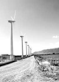 La Venta, central eólica de la CFE, en el municipio de Juchitán, OaxacaFoto Rosa Rojas - La Jornada