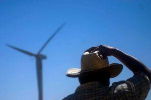 Habitantes del Istmo de Tehuantepec han sido desplazados de sus poblados para dar paso a los parques eólicos. Foto: Cuartoscuro