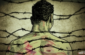 """Ombudsman insta a Peña Nieto a dar soluciones sobre tortura y desaparición forzada; """"Ayotzinapa no es asunto cerrado"""". Imagen tomada de Revolución 3.0"""