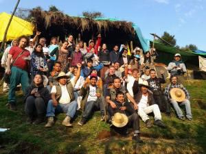 Visita de RAMALC a Xochicuautla y Huitzizilapan Foto: Frente de Pueblos Indígenas en Defensa de la Madre tierra