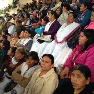 Más de 2 mil delegados participan en la asamblea en defensa de la tierra en el norte de PueblaFoto Israel González Olivares - La Jornada