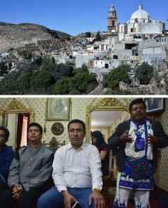 Huicholes se oponen a basurero industrial entre Zacatecas y SLP / Foto: Alfredo Valadez - La Jornada