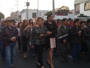 Claman justicia con marcha silenciosa en Toluca / Foto: Alfa Diario