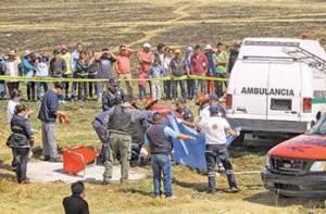 Hallan cadáver de una joven en fosa séptica en Almoloya de Juárez / Foto: El Sol de Toluca